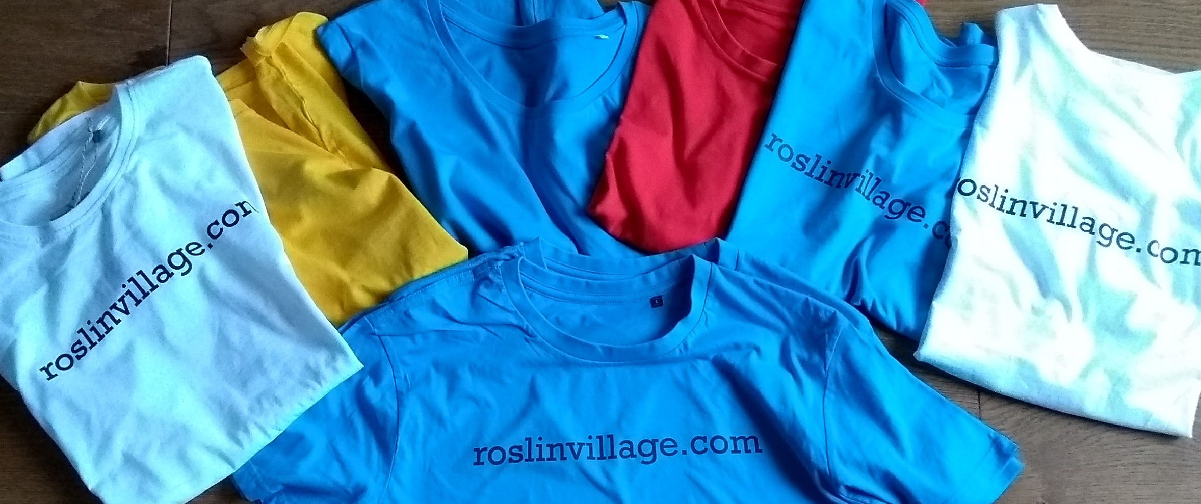 First t-shirts are in…..